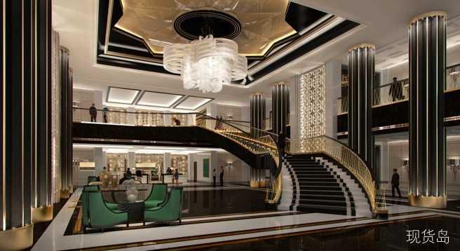 上海苏宁宝丽嘉酒店艺术派外观