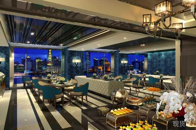 上海苏宁宝丽嘉酒店全日餐厅CaféBellagio