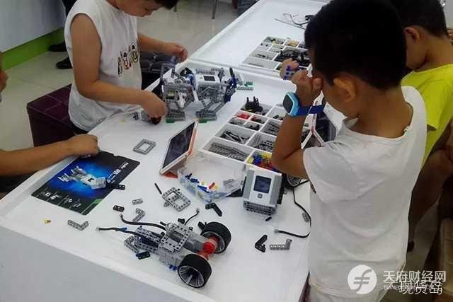 拼装机器人